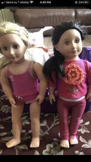 Our generation doll both for $15 for Sale in Norwalk, CA