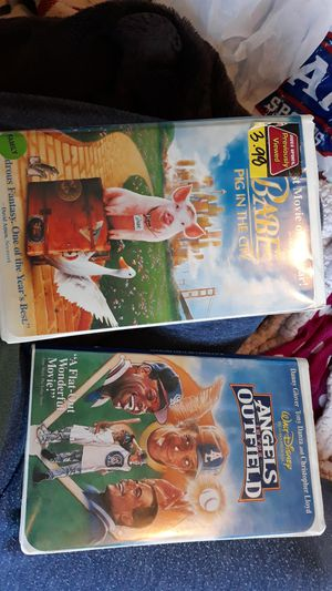Babe pig in the city and Angels in the Outfield movies for Sale in Auburn, WA