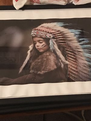 Native American child print for Sale in Willow Springs, CA