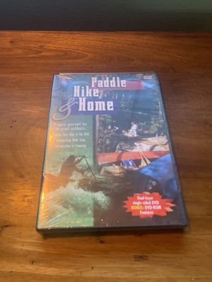 Paddle hike and home outdoor training Dvd for Sale in Portland, OR