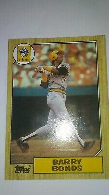 1987 Topps Barry bonds error card for Sale in San Angelo, TX