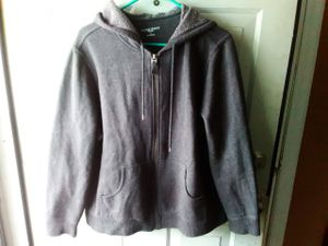 Women's size Large Gray Zip Up Hoodie Jacket for Sale in St. Louis, MO