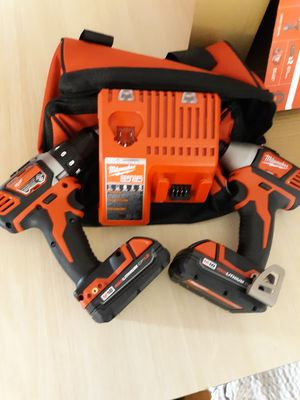 Milwaukee M18 Impact and drill set for Sale in Baton Rouge, LA