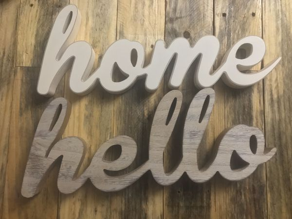 Home, Hello decor