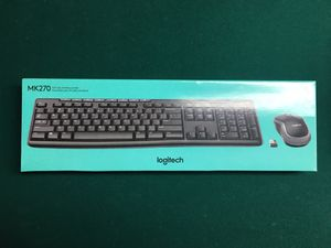 Logitech MK270 wireless mouse and keyboard MacOS/Windows for Sale in MONTGMRY, IL