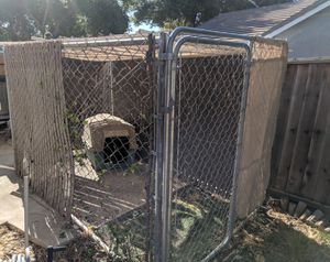 Dog Kennel, 6x11x6, and dog house for Sale in Brentwood, CA