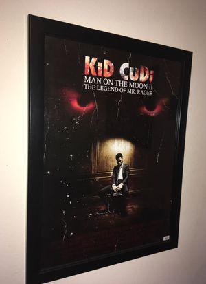 Framed Limited Print Kid Cudi Print for Sale in Atlanta, GA