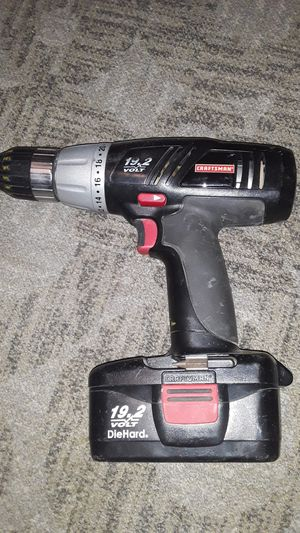 CRAFTSMAN 19.2 V Drill for Sale in Tucson, AZ