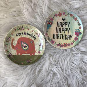 Happy Birthday Mini Plates for Sale in Irvine, CA