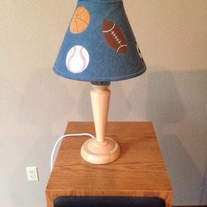 Sports(Basketball, Soccer, Baseball, Football) Lamp for Sale in Bonney Lake, WA
