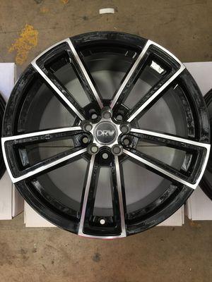 "Brand New 18"" Inch Diablo D12 Black Machined Face 18X8 Wheels Rims Rines 5X100 5X3.94 5X114.3 5X4.5 for Sale in Austin, TX"