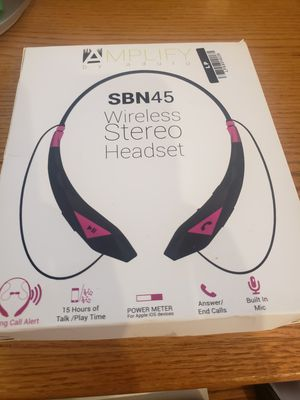Wireless stereo headset for Sale in Buffalo Grove, IL