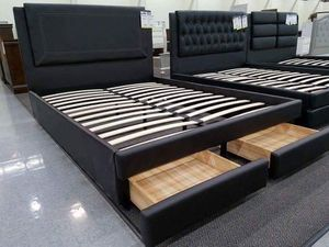 Bed frame with mattress for Sale in Lake Elsinore, CA