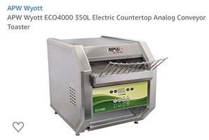 APW wyott conveyer toaster for Sale in Plano, TX