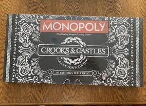 Monopoly Crooks & Castles board game. for Sale in El Dorado Hills, CA