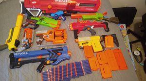 Nerf gun bundle with 100 unused bullets for Sale in Virginia Beach, VA