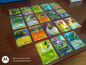 Lot of 18 Rare-Ultra Rare Pokemon EX Holographic Cards for Sale in Topeka, KS