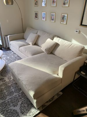 Custom Goose-blend sectional sofa for Sale in Austin, TX