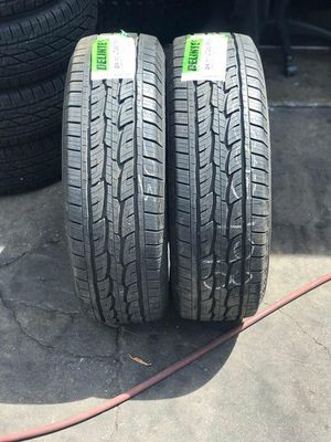 2 Delintec tires 265/75r16 for Sale in Lakewood, CA