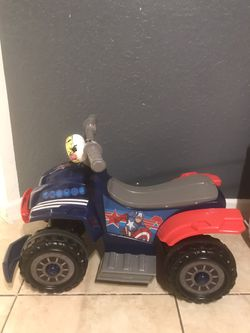 6v Marvel Captain America Toddler Quad Ride on Toy for Sale in FL,  US