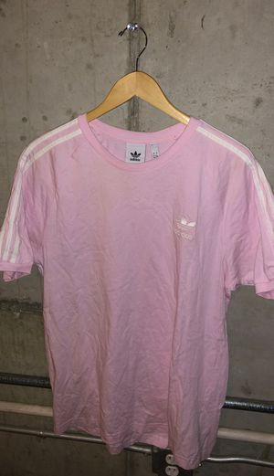 Adidas 3 stripes Tee L for Sale in Fresno, CA