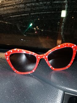 MIU New Womans Red W Stars Sunglassess for Sale in Schenectady,  NY