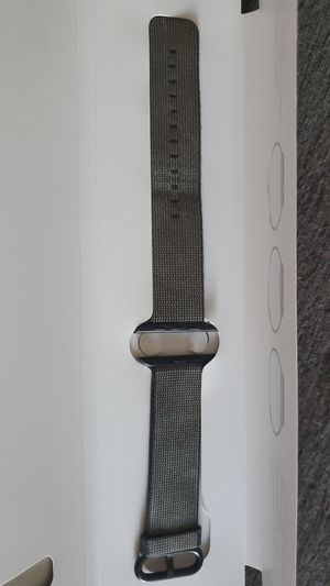 Black woven nylon apple watch band 42mm for Sale in Tacoma, WA