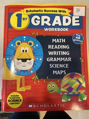 Scholastic 1st grade workbook for Sale in Fife, WA