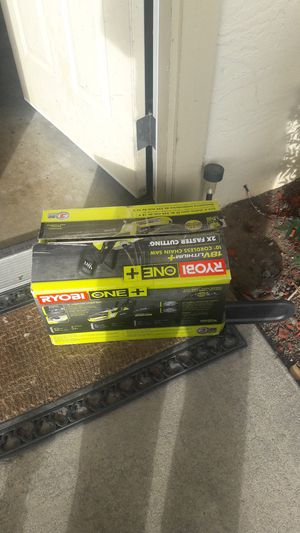 Ryobi cordless chainsaw no battery or charger included for Sale in San Jose, CA