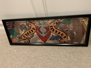 Loyalty Courage Hanging Picture (Glass) 37.5 inch x 13.5 inch . Like New no scratches. for Sale in Frankfort, IL