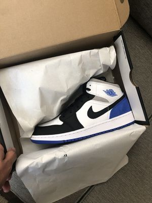 Jordan 1 Mid Union Hyper Royal for Sale in Ontario, CA