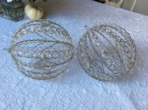 Christmas decorations spheres for Sale in Miramar, FL