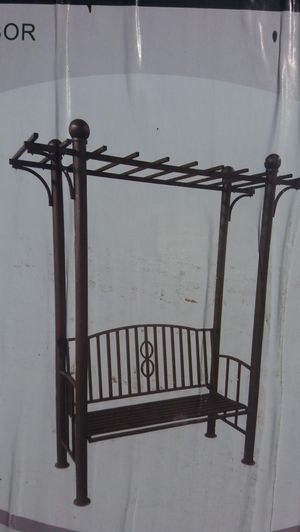 Tuscana Pergola Style Bench for Sale in Grosse Pointe, MI