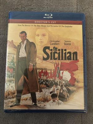 The Sicilian Blu-ray Still Sealed for Sale in Tampa, FL