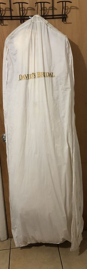 NEED GONE ASAP Used Davis's bridal wedding dress for Sale in Pompano Beach, FL