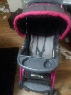 Hello kitty stroller car seat set for Sale in Galloway, OH