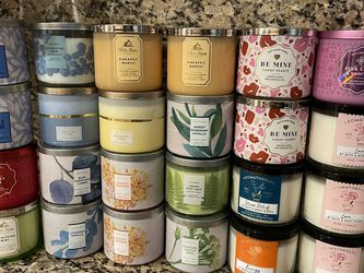 $16 Each Bath & Body Works Large 3 WIC Candles for Sale in Miami,  FL