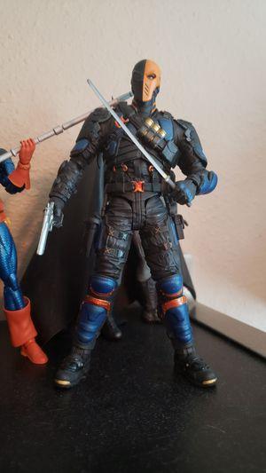 DC Collectables Desth Stroke action figure marvel legend for Sale in Houston, TX