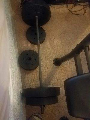 GOLDS's Gym bench 3/1 for Sale in Hayward, CA