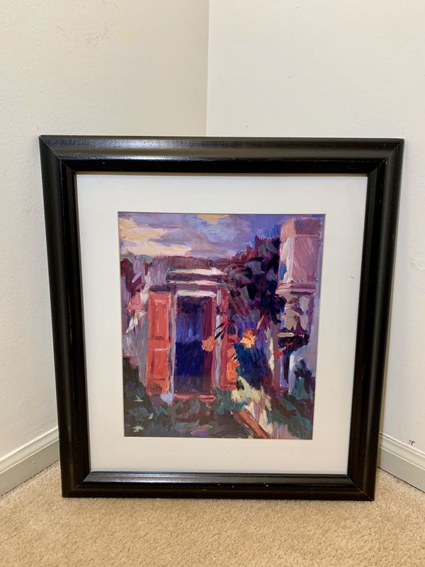 Framed Abstract Photo