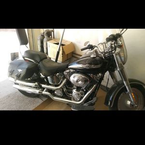 2003 Harley Davidson Anniversary Edition Fat Boy for Sale in Glendale, AZ