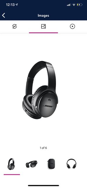 Bose QuietComfort 35 Wireless Noise Cancelling Headphones II with Google Assistant - Black for Sale in Torrance, CA