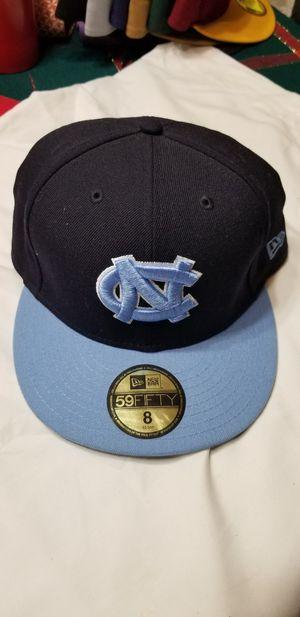 North Carolina Tar Heels Fitted Hat (size 8) for Sale in Auburn, WA