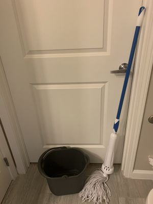 Mop and mop bucket for Sale in Elkridge, MD