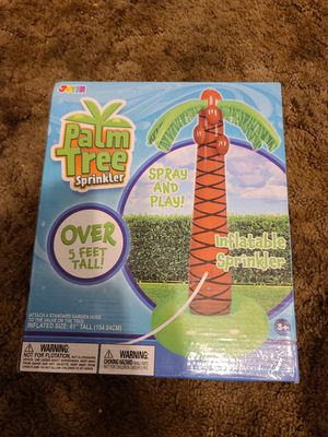 Palm tree sprinkler for Sale in Saint Robert, MO