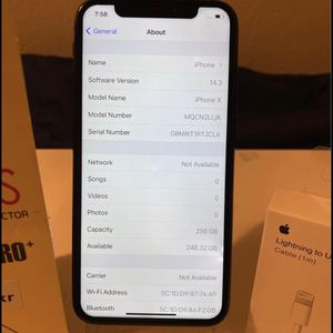 iPhone X 256gb..unlocked for Sale in Denver, CO