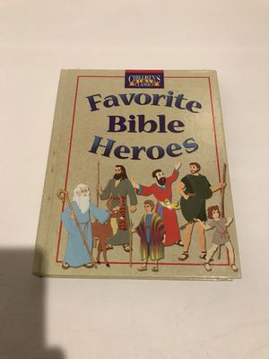 Children's Bible Classics Hardcover/Favorite Bible Heroes by Tommy Nelson. Compare prices for Sale in Katy, TX