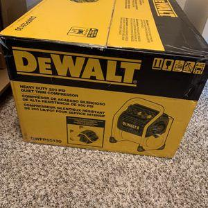 Dewalt Air Compressor New for Sale in Haltom City, TX