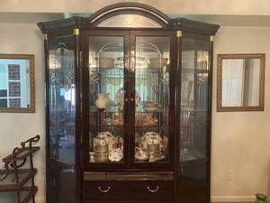 Dining china cabinet for Sale in McLean, VA