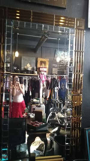 Huge mirror from the red garder one of the oldest brostels in town for Sale in Denver, CO